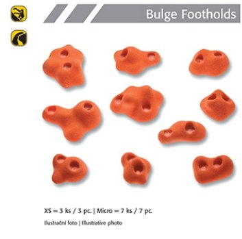 Boule Footholds set